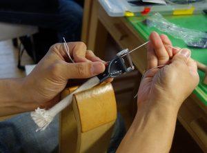 持ち手縫い