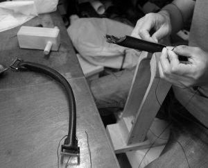 丸手手縫い