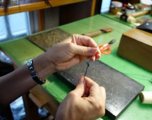 縫い糸準備