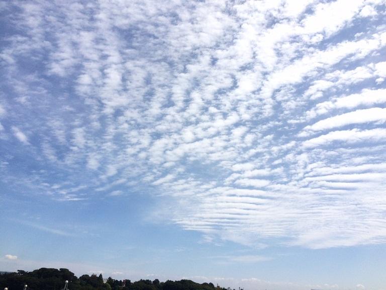 シルバーウィークの空