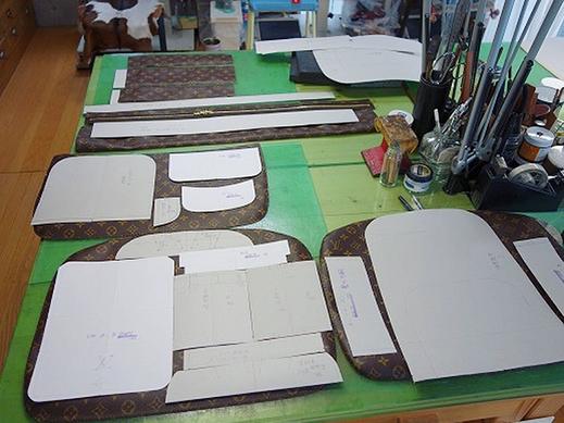 パターンの工程