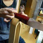 ペンケース手縫い
