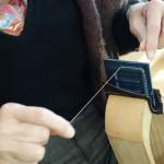 革巻き美錠縫い