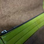 柿渋染の長財布