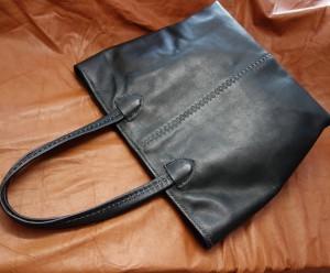 手縫いトートバッグ