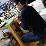 型絞り型作り