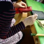 手縫いペンケース