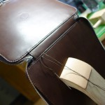 表胴と裏胴の縫い合わせ