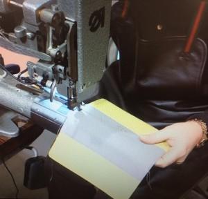 GUCCIミシン縫い